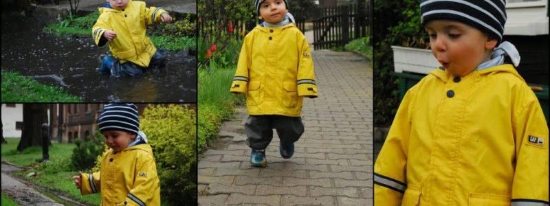 W czasie deszczu dzieci się nudzą…